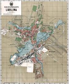 Plan wielkiego miasta Lublina (1931 r.)