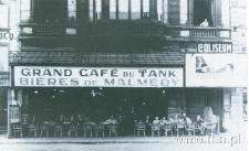 Kawiarnia w Verviers(Belgia), do której Anna Langfus (wówczas Szternfinkiel-Rajs) chadzała z kolegami ze studiów