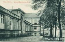 Wyższa Szkoła Włókiennicza w Verviers, gdzie Anna Langfus studiowała z mężem Rajsem