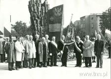 Odsłonięcie Pomnika Obrońców Lublina. 21.IX.1987