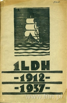 Okładka książki: Przyczynki do historii I-szej Żeńskiej Drużyny Harcerskiej im. E. Plater w Lublinie. Rok 1911-1937