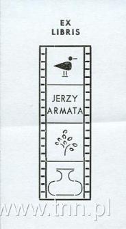 Ekslibris Jerzego Armaty