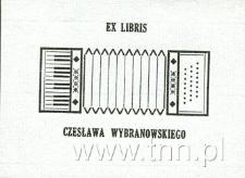 Ekslibris Czesława Wybranowskiego