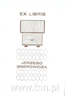 Ekslibris Jerzego Gnerowicza