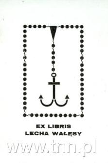 Ekslibris Lecha Wałęsy