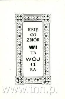 Księgozbiór Wita Wójcika