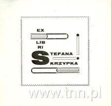 Ekslibris Stefana Skrzypka
