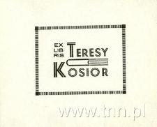Ekslibris Teresy Kosior