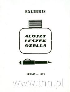 Ekslibris Aloizy Leszek Gzella