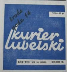 Kurier Lubelski 1969 nr 30 : Kto bronił Lublina? (37)