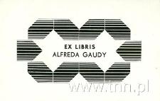 Ekslibris Alfreda Gaudy