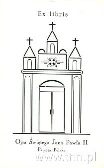 Ex libris Ojca Świętego Jana Pawła II Papierza Polaka