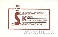 Ex Libris Starachowickiego Klubu Kolekcjonerów w Starachowicach