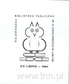 Ex Libris Wojewódzka Biblioteka Publiczna im. Hieronima Łopacińskiego