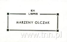 Ex Libris Marzeny Olczak