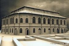 Wizualizacja Synagogi Maharszala w Lublinie.