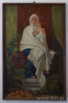 Madonna z Dzieciątkiem. Obraz