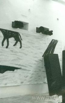 """Białe tango"". Galeria Biała 22.10.1988"