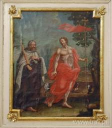 Chrystus Zmartwychwstały i prorok Eliasz. Obraz