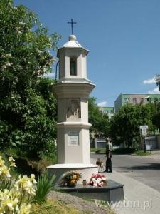 Kapliczka u zbiegu ulic Kalinowszczyzna i Dembowskiego w Lublinie