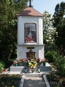 Kapliczka przy skrzyżowaniu ulic Nadbystrzyckiej i Plażowej w Lublinie