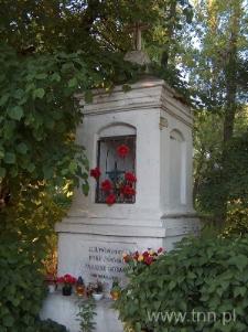 Kapliczka przy Drodze Męczenników Majdanka w Lublinie