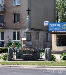 Figura przydrożna na skrzyżowaniu ulic Kunickiego i Wyścigowej w Lublinie