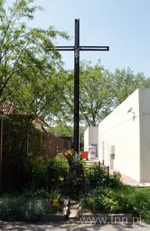 Krzyż na skrzyżowaniu ulic Kunickiego i Zemborzyckiej w Lublinie