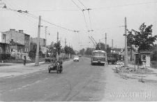 Ulica Kunickiego przy ulicy Głuskiej