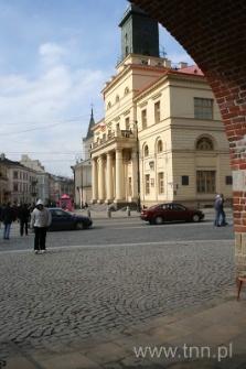 Widok na Ratusz i Plac Łokietka