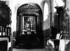 Wnętrze kościoła parafialnego w Kurowie