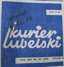 Kurier Lubelski 1969 nr 129 : W sprawie obrony Lublina w 1939 r.