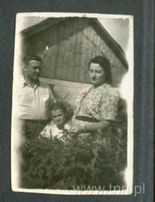 Rodzice Stefanii Wójcik - Kazimierz i Marianna Sadlak