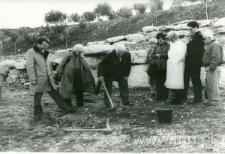 Sadzenie drzewka w Izraelu