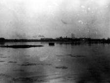 Rzeka Bystrzyca - cukrownia. Lublin. Fotografia