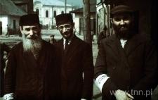Członkowie Judenratu w Izbicy