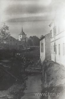 Rzeka Czechówka w Lublinie, przed regulacją. Fotografia