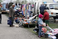 Wojsławice, fair is held every Wednesday here