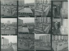 Wglądówka, 1 – 10 Budowa w osiedlu Nałkowskich
