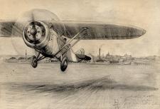 Samolot z lubelskich zakładów lotniczych