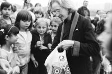 Ognisko na pożegnanie lata z dziećmi z TKKF Fryderyk