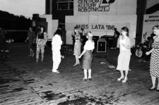 Chełmskie wybory Dziewczyny Lata 1986 w Kumowej Dolinie