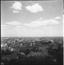 Skan Negatywu, 1 - 12 Panorama Lublina widziana z budującego się wieżowca przy ul. Kr. Leszczyńskiego