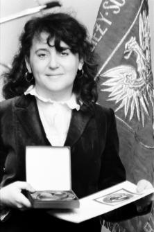 "Skan Negatywu,4 - 24 Barbara SŁOBODA ""Medal Gorących Serc"""