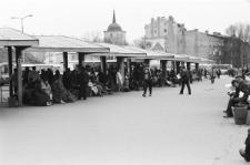 Dworzec PKS w Lublinie - perony i plac manewrowy