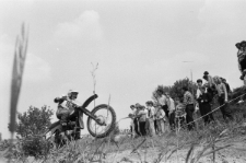 Zawody motocrossowe na Górkach Czechowskich w Lublinie