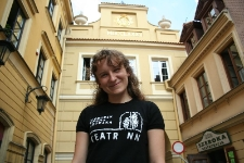 """Maryna Czarna talks about the experience of """"being a foreigner"""""""