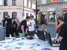 Stół Poezji na Placu Łokietka