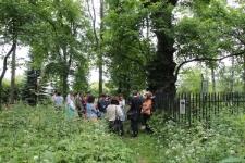 Visit at the Jewish cemetery in Szczebrzeszyn