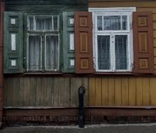 A wooden house in Międzyrzec Podlaski